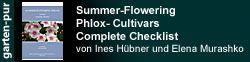 Sommerblühende Phlox-Cultivare: Komplette Checkliste